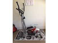 Magnetic Cross Trainer with Heart Rate Monitor - Rarely Used