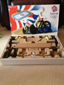 Team GB cycling scalextric set