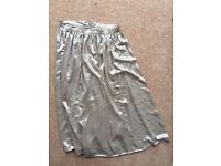 Gold Miss Selfridge party skirt, size 10