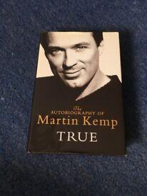 Martin Kemp Autobiography true
