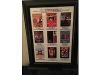 1980's Boxing Legends Framed Print