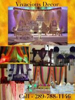 Vivacious wedding decor