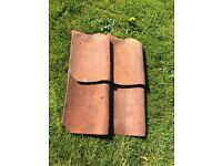"Reclaimed roof 14""x 9"" Pantiles"