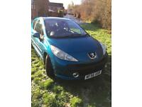 PEUGEOT 207 1.6 HDI DIESEL LOW MILEAGE 82000 FULL MOT