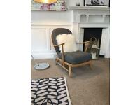 Ercol Windsor blonde 2 chairs