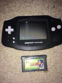 Gameboy Advance and sonic Nintendo