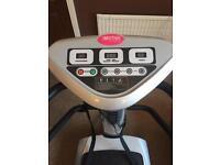 Motive fitness vibrating oscillating exercise machine