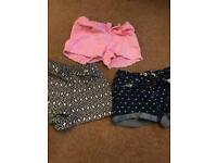 Girls shorts and skirts bundle ages 9-10