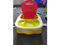 Mothercare support chair with tray