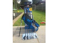 US Kids Golf Set BLUE
