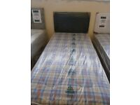 New Myer Adams Oxford Single Bed with Mattress.