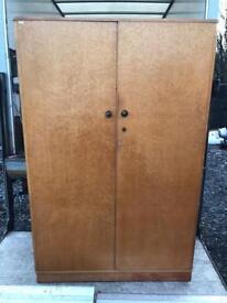 Large double door birds eye Maple wardrobe