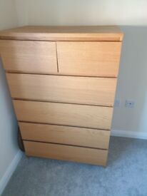 Ikea Malm chest of drawers £20
