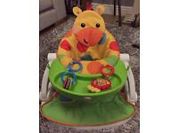 Fisher Price Giraffe Sit me Up with tray