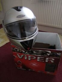 Motorcycle Crash Helmet x 2 (m)