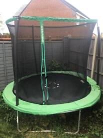 8ft sport trampoline good condition