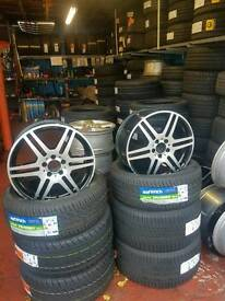 Mercedes alloys 18""