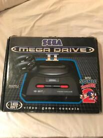 SEGA MEGADRIVE BOXED!!! With two pads