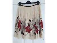 Ted Baker floral skirt (size TB 2)