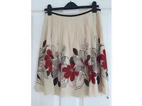 Ted Baker flora skirt