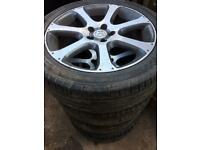 Honda crv mk3 R19 alloys price for each 80£