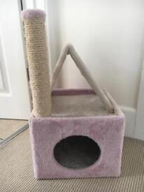 Kitten scratching post