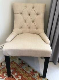 4x comfortable dining chairs