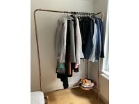 Hanging Rail Alana very good condition, copper, wardrobe