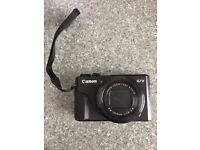 Canon PowerShot G7X Mark II Digital Camera (With Joby Tripod)