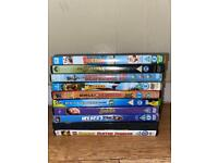 14 family movie DVDs