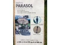 Large Blue Parasol - New