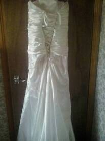 Ivory wedding dress reduced for quick sale!!!