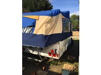 Conway crusader trailer tent top of the range 2004 with Awning skirts