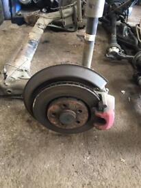 Seat Leon cupra r rear axel with vented big back brakes mk4 golf Audi A3 s3 256mm