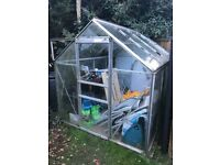 Good quality greenhouse, only needs a good clean.