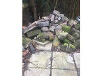 Rubble or Rocks/ stones for a rockery - FREE