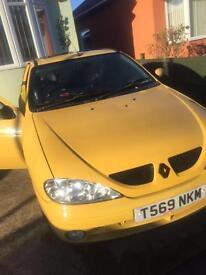 Breaking 1999 Renault megane Monaco ltd edition