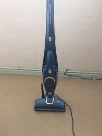 Morphy Richards rechargeable handheld & upright vacuum cleaner