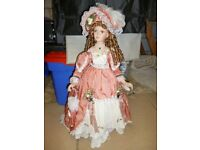 "28"" & 33"" Collectable Tall China Dolls"