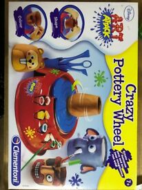 Disney Art Attack Crazy Pottery Wheel