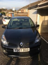 Renault Clio dynamic 1.5 turbo diesel(brand new clutch) £30 a year tax 11 month mot