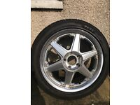 "2x 17"" wheels and alloys for sale"