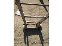 Vintage wooden sack barrow