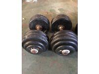 40kg dumbells