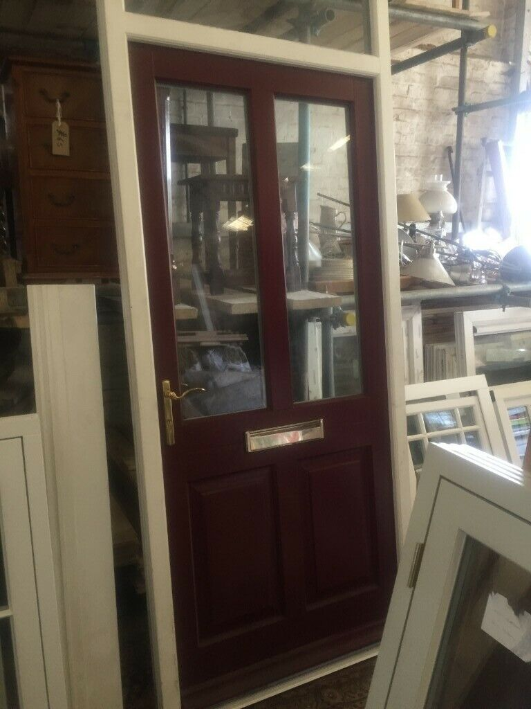 Wooden Front Door And Frame Hand Made As New Ex Show Room Cost Price 2800 Now 800 In Aston Clinton Buckinghamshire Gumtree