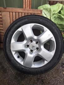 Vauxhall Astra Zafira Vectra Wheels
