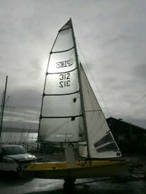 Topper Spice sailing dinghy