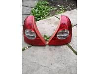 Clio rear lights