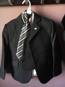 Boys Pinstriped suit