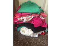 Bundle of 19 tops and 2 cardigans size 8